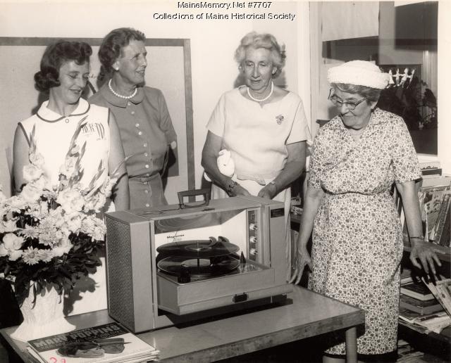 Volunteers, Maine Medical Center, 1965