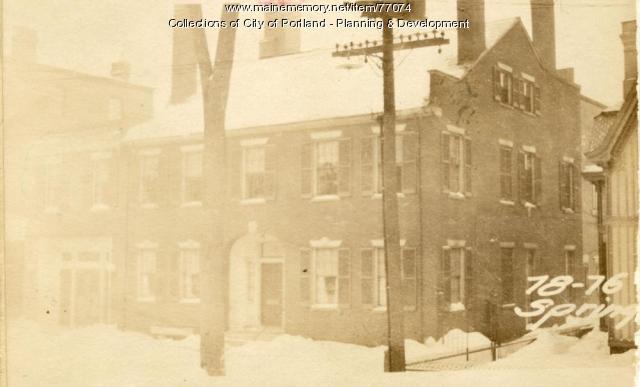 76-78 Spring Street (Pt Ex.), Portland, 1924