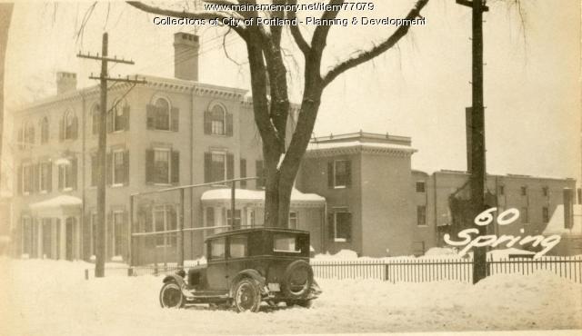 56-70 Spring Street, Portland, 1924