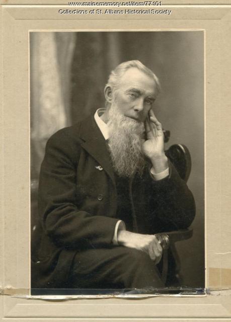 Simon Wing, St. Albans, ca. 1900