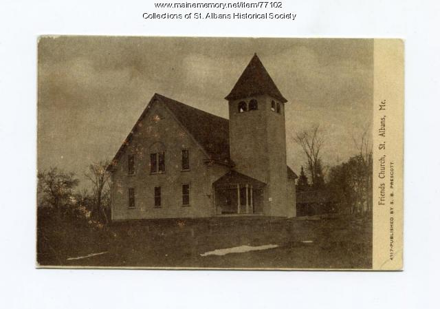 Friends Church, St. Albans, 1907