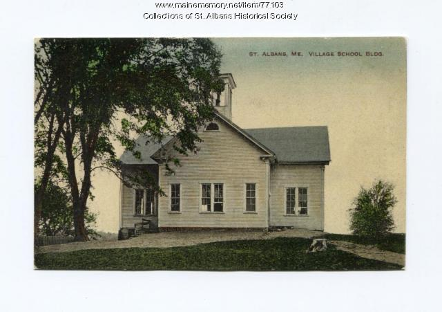 Village School, St. Albans, 1883