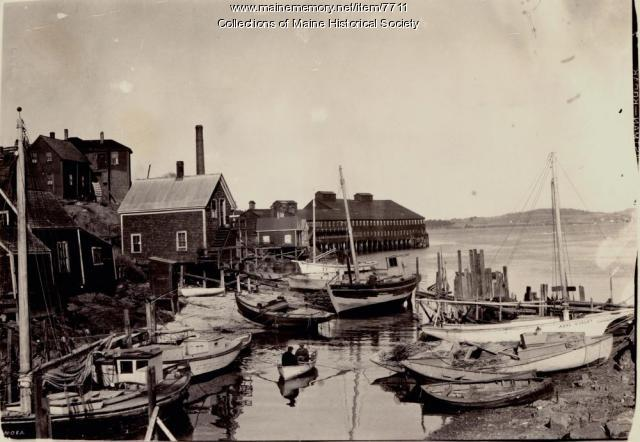 Huston's Cove, Eastport