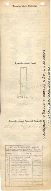 173 State Street, Portland, 1924