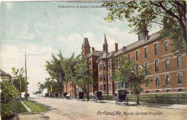 Maine General Hospital, Portland, ca. 1905
