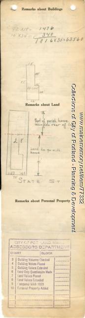 163-165 State Street, Portland, 1924