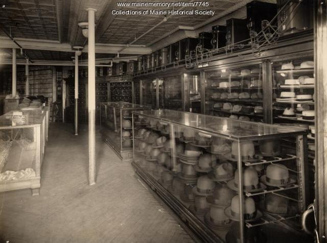 Hats at the A.H. Benoit Co., Portland, 1919