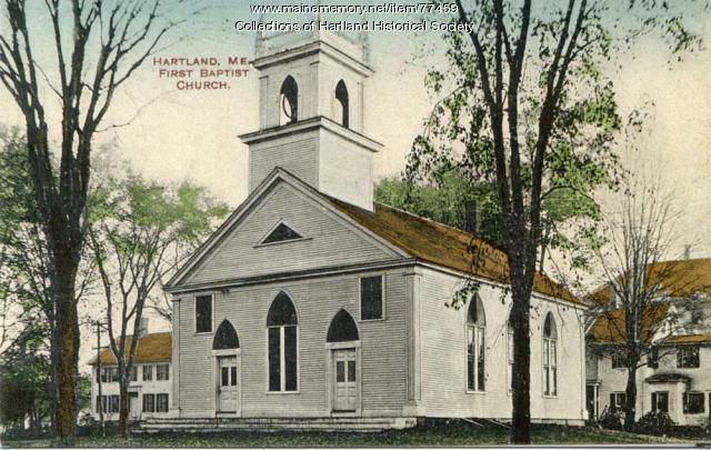 First Baptist Church, Hartland, ca. 1890