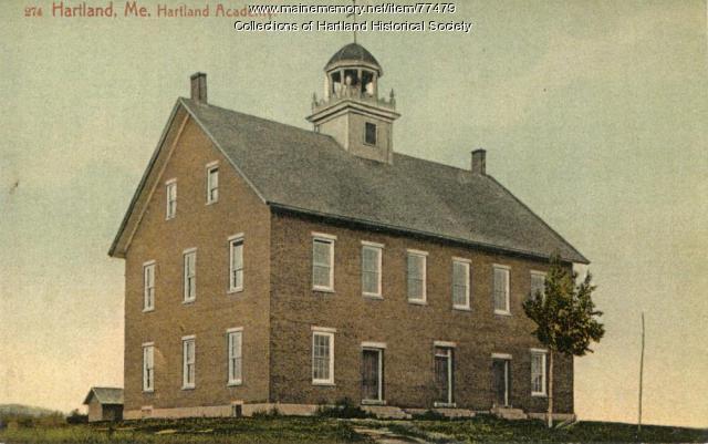 Hartland Academy, ca. 1900