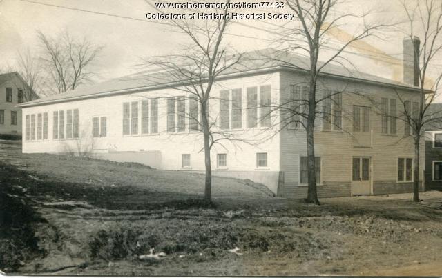 Skirt factory, Hartland, ca. 1915