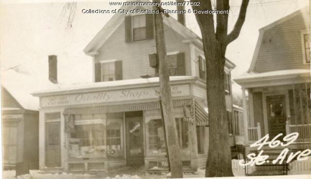 469 Stevens Avenue, Portland, 1924