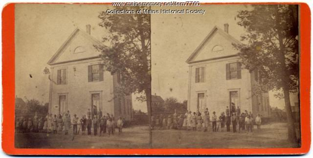 School in Harpswell,  ca. 1890