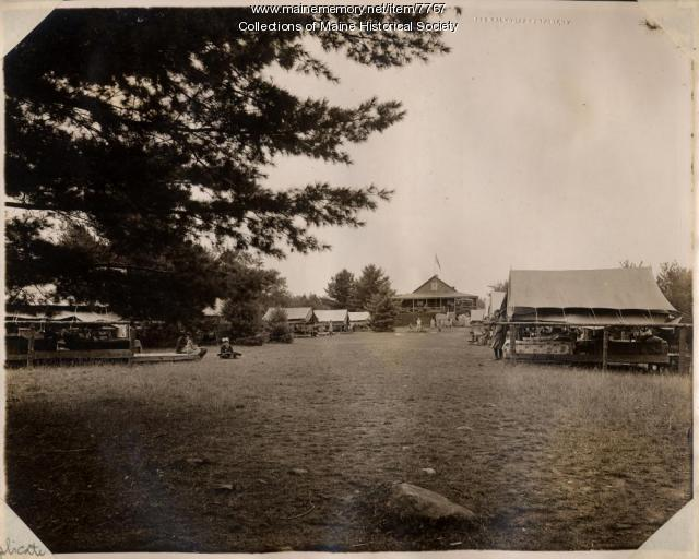 Camp Abena, Belgrade Lakes, ca. 1910