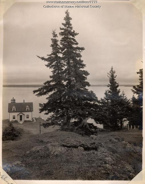 Eagle Island, Penobscot Bay, ca. 1910