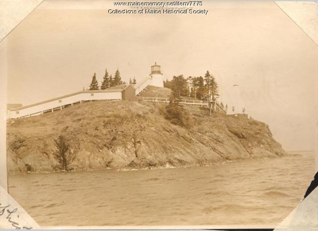 Owls Head Lighthouse, ca. 1910