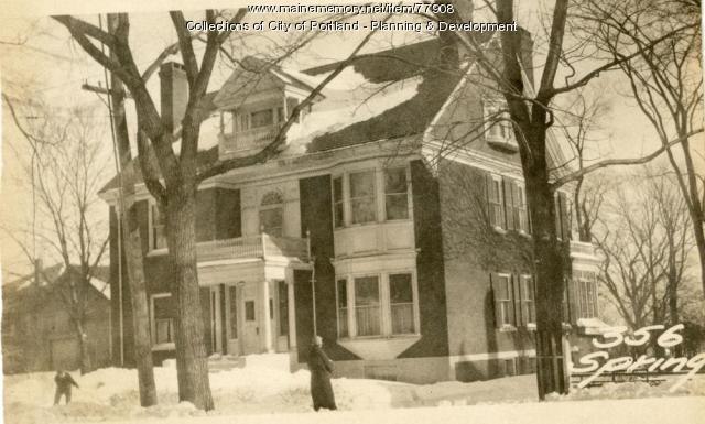 348-352 Spring Street, Portland, 1924