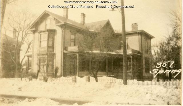 355-359 Spring Street, Portland, 1924