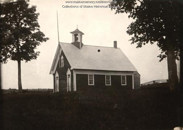 Center School house in Atkinson