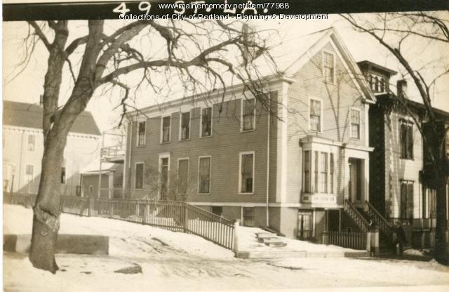 51 St. Lawrence Street, Portland, 1924