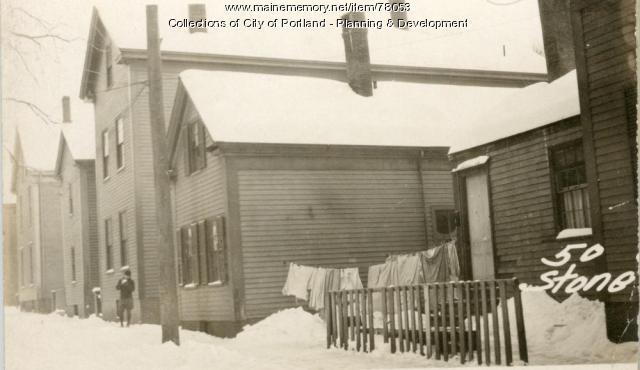 50 Stone Street, Portland, 1924