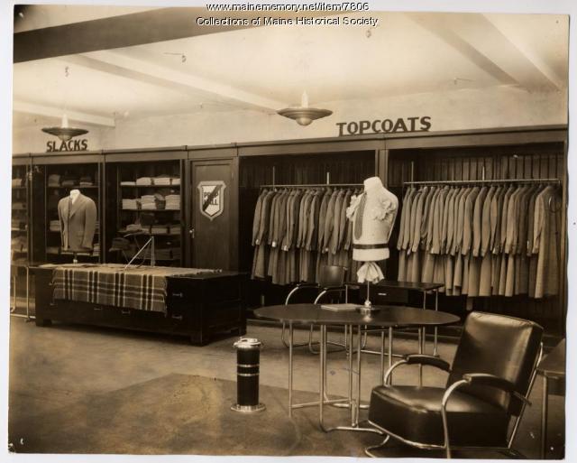 Prep Hall, Benoit's, Portland, 1938