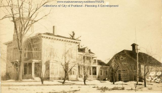 83-105 Stevens Avenue, Portland, 1924
