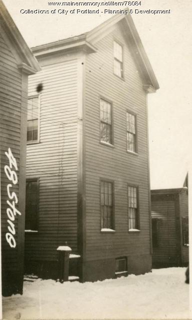 48 Stone Street, Portland, 1924