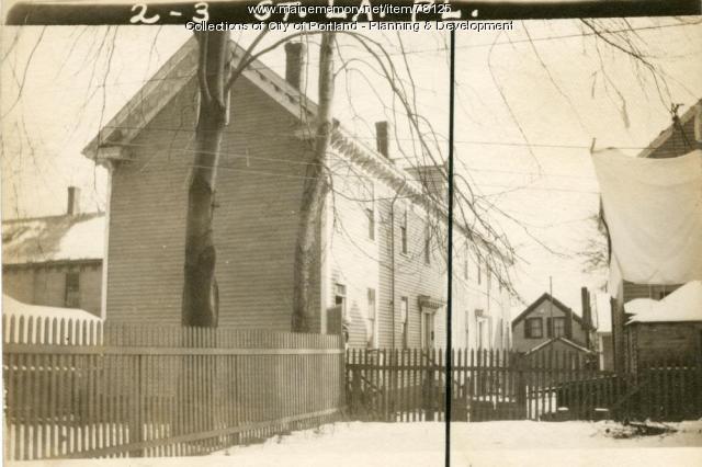 2 St. Lawrence Street, Portland, 1924