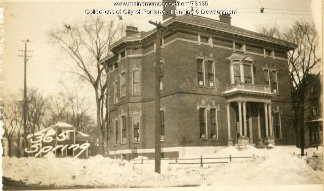 361-367 Spring Street, Portland, 1924