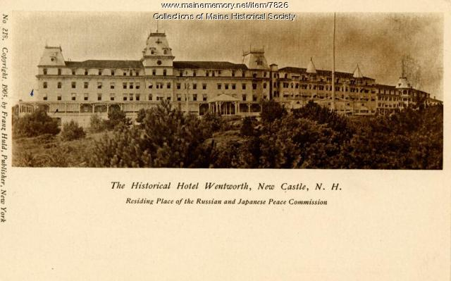 Hotel at Wentworth, New Castle, New Hampshire, 1905