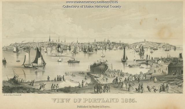 Portland, 1865