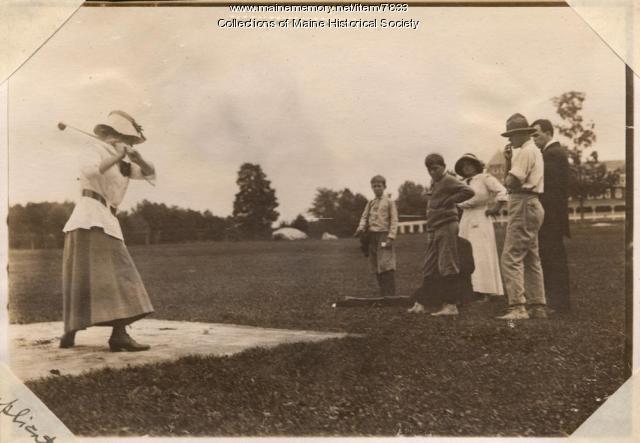 Golfer, The Belgrade, 1911