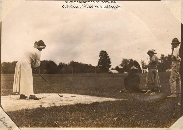 Golf at The Belgrade, ca. 1911