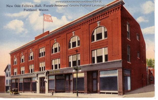 New Odd Fellows Hall, Portland, ca. 1930