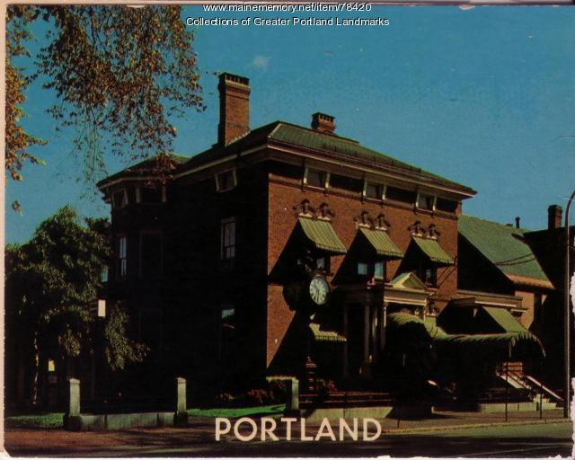 Hay & Peabody Funeral Home, Portland, ca. 1925