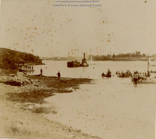 Spanish prisoners, Portsmouth Naval Shipyard, 1898