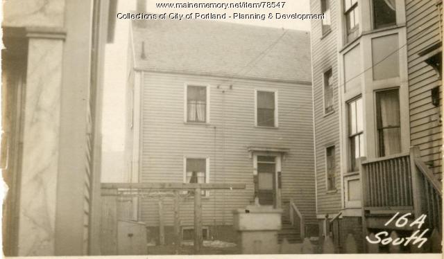 16 South Street, Portland, 1924