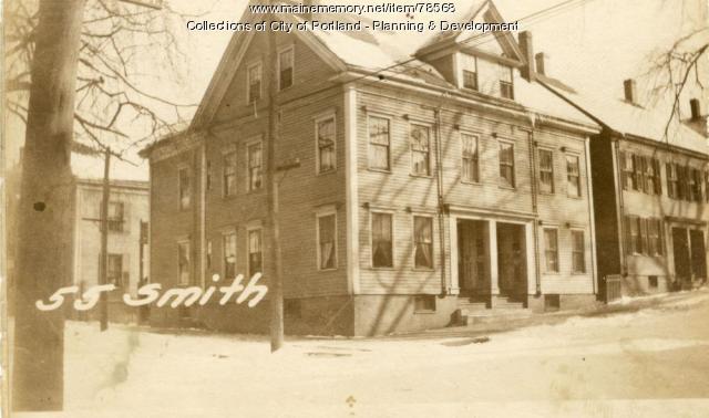 55 Smith Street, Portland, 1924