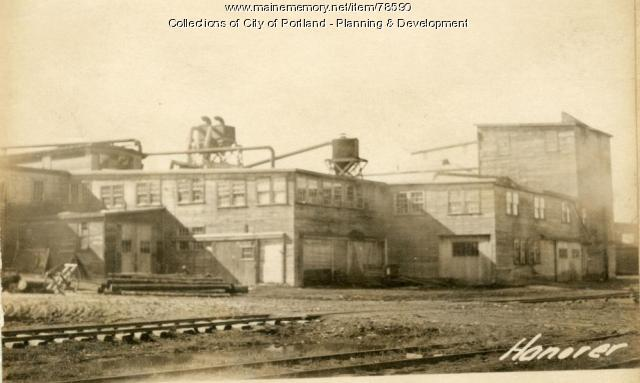 131-145 Somerset Street, Portland, 1924