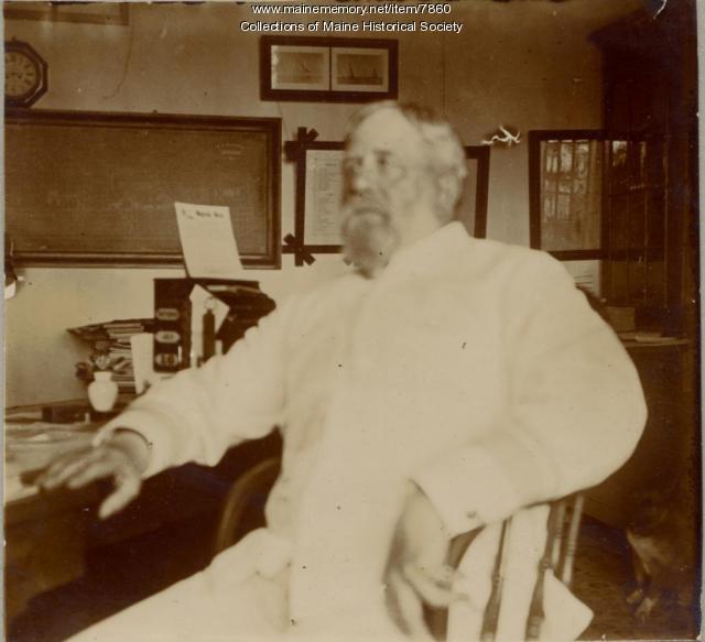 Admiral Charles C. Carpenter, Kittery, 1898