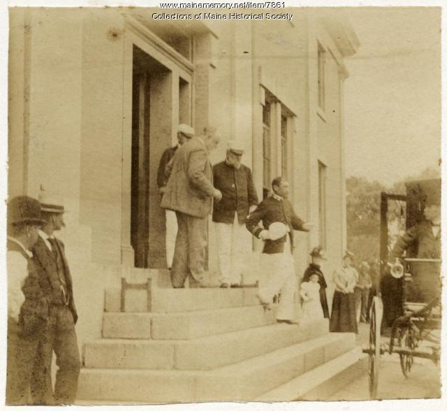 Admirals Cervera and Carpenter, Kittery, 1898