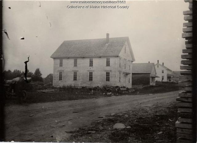 Town Hall, Atkinson, ca. 1900