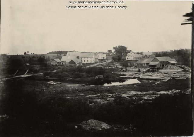 Atkinson Mills, Atkinson, ca. 1900