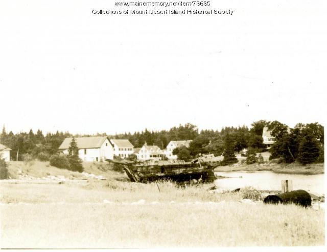 Schooner Catherine, Somesville, ca. 1950