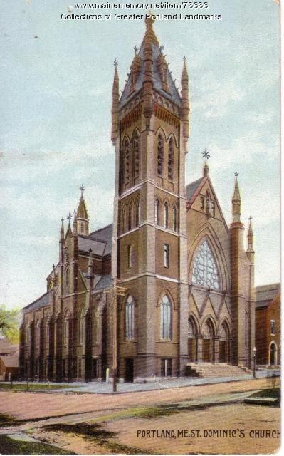 St. Dominic Church, Portland, ca. 1913