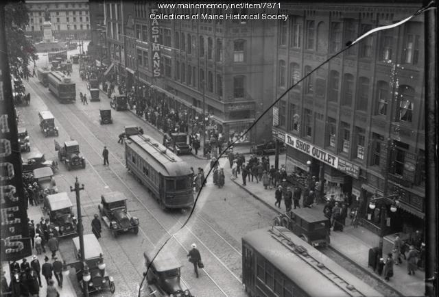 Congress Street, Portland, ca. 1930