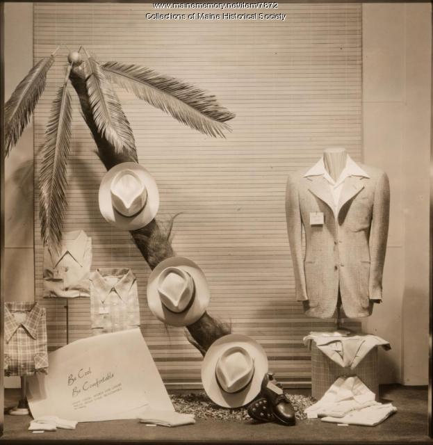 Window display, Benoit's, Portland, ca. 1930