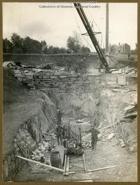 New Quarry, Monson, ca. 1915