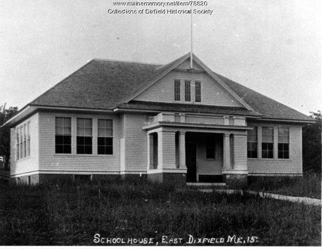 East Dixfield School, 1915