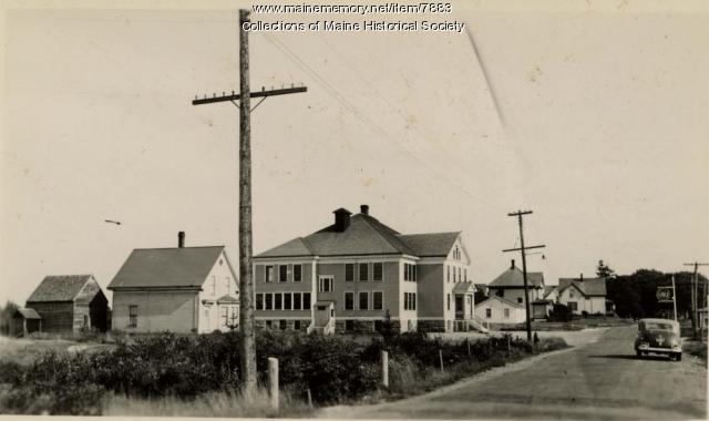 Stonington School, 1942
